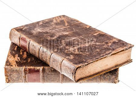 Ancient Books Isolated