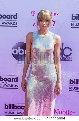 LAS VEGAS - MAY 22 : Singer Ciara attends the 2016 Billboard Music Awards at T-Mobile Arena on May 22 2016 in Las Vegas Nevada.