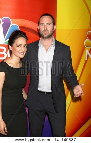 LOS ANGELES - AUG 2:  Archie Panjabi, Sullivan Stapleton at the NBCUniversal TCA Summer 2016 Press Tour at the Beverly Hilton Hotel on August 2, 2016 in Beverly Hills, CA