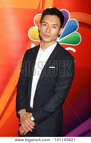 LOS ANGELES - AUG 2:  Manny Jacinto at the NBCUniversal TCA Summer 2016 Press Tour at the Beverly Hilton Hotel on August 2, 2016 in Beverly Hills, CA