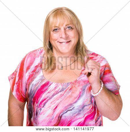 Closeup Of Transgender Woman