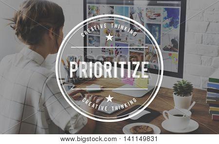 Prioritize Tasks Urgency Urgent Work Importance Concept