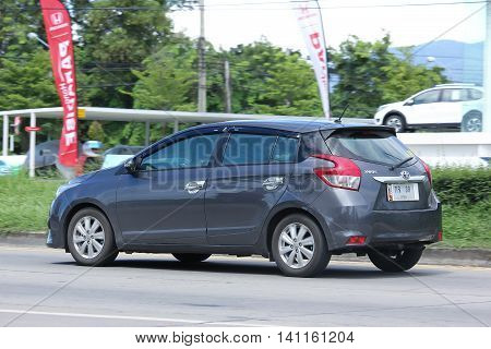 Private Eco Car, Toyota Yaris.