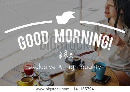 Good Morning Beginning Startup New Dawn Concept