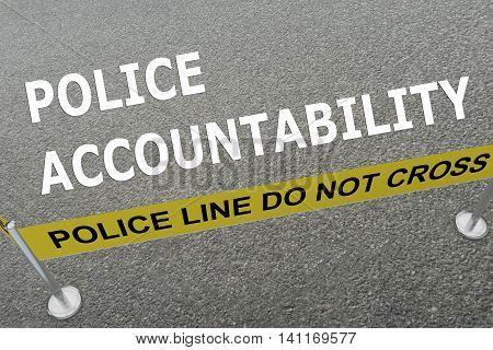 Police Accountability Concept