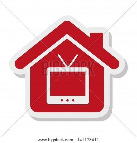 house property isolated icon vector illustration design