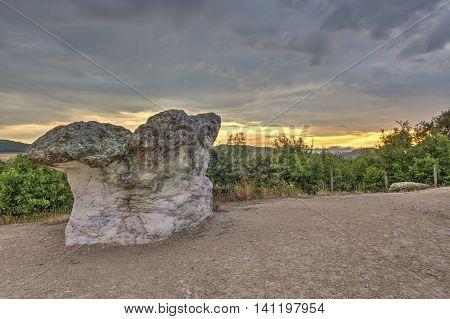 Mushroom Rocks Phenomenon