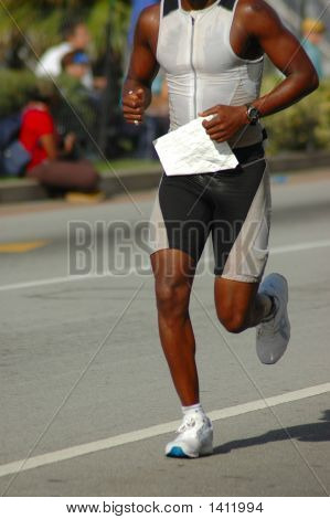 African American Triathlete