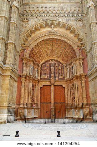 La Seu Entrance, Palma De Majorca