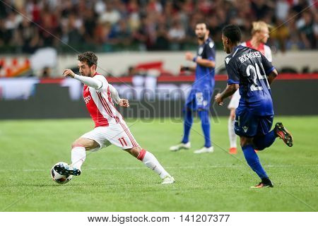 Uefa Champions League Third Qualifying Round Between Ajax Vs Paok