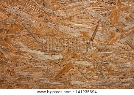 Background of oriented strand board. OSB as background