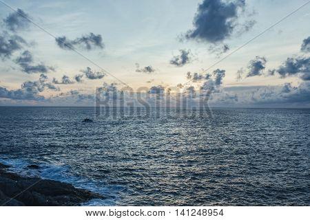Sunset at Laem Phrom ThepPhromthep Cape south of Phuket