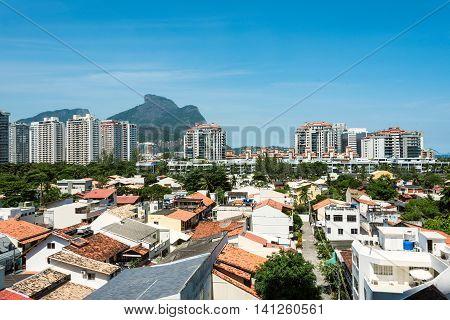 Barra da Tijuca - the South Zone and Downtown of the city of Rio de Janeiro Olympic Game 2016 neighborhood Brazil