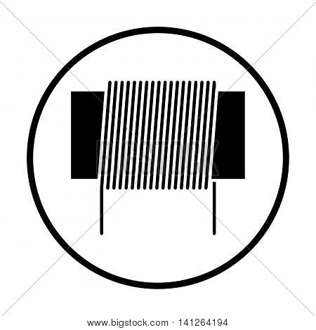 Inductor Coil Icon