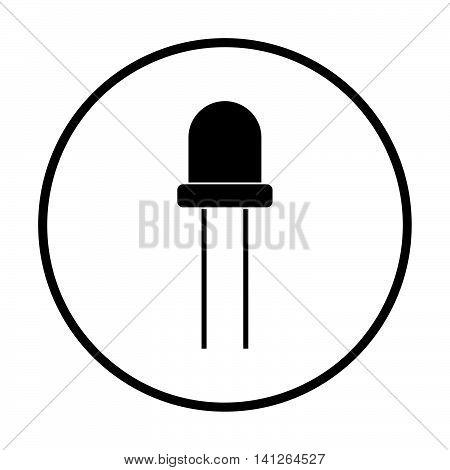 Light-emitting Diode Icon