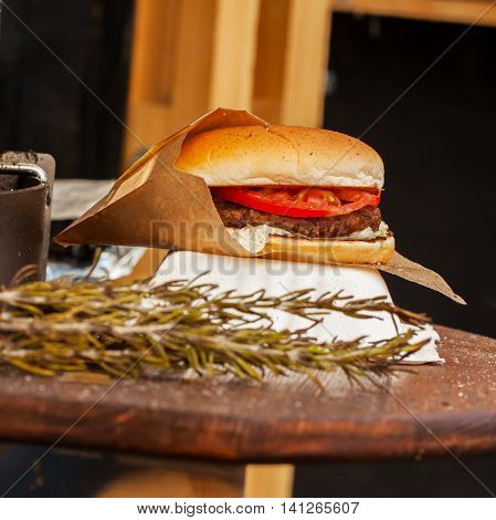Hamburger and Rosemary, who is good in side dishes, sauces, marinades, soups and barbecue.