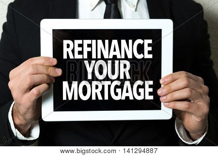 Refinance Your Mortgage poster
