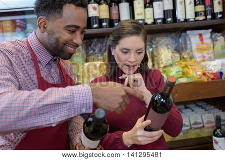 portrait of a man selling wine during wine tasting