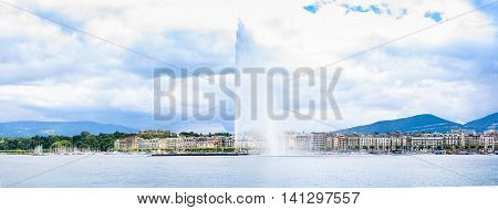 The Fountain Of Geneva