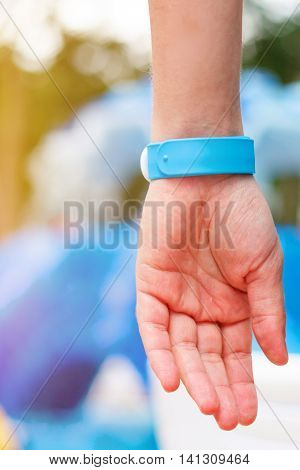Hand With All Inclusive Bracelet