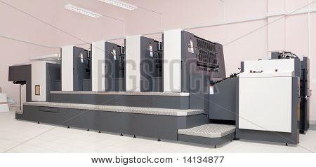 Four-section Offset Printed Machine