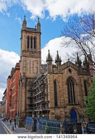 Glasgow City Church In Cathedral Stree