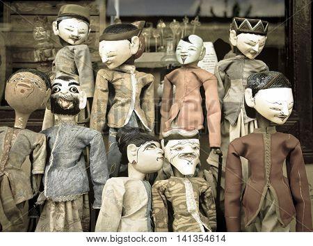 bali puppets
