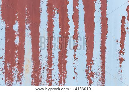 Rusty Wall Peeling Paint Background