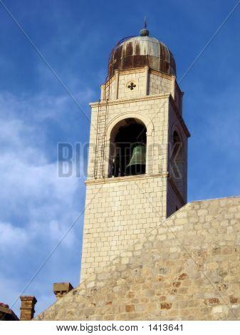 Bell Tower In Croatia