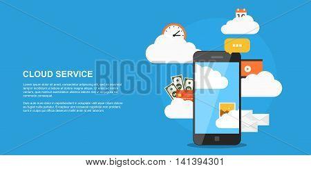 Cloud Service Concept