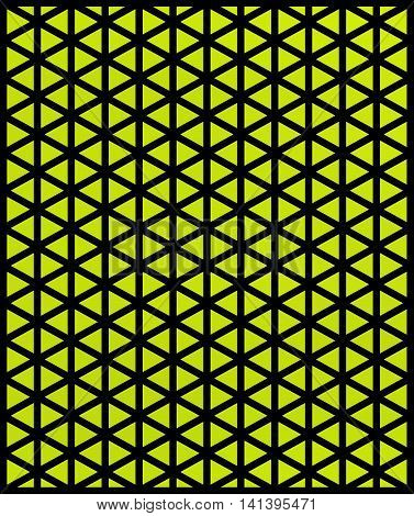 Crazy Wallpaper With Triangles
