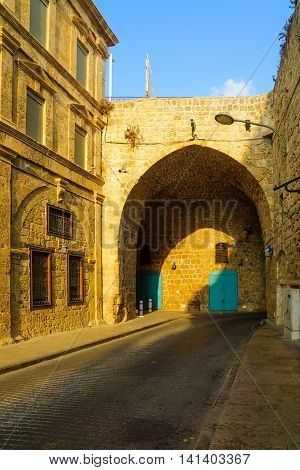 The Land Gate In The Walls Of Acre