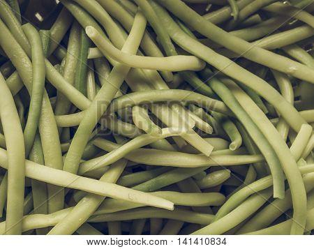 Green Bean Vintage Desaturated