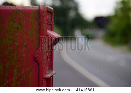 Standart UK postbox found nearly om every street