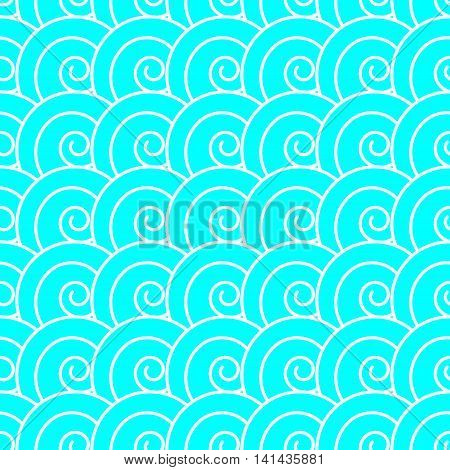 Vector seamless pattern in the Japanese style