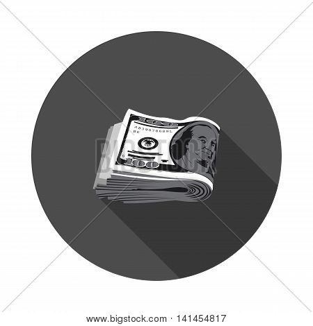 flat icon pack of dollars in vector format eps10