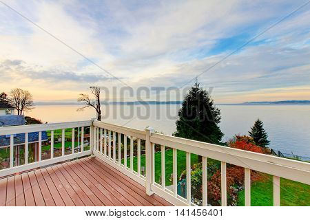 Awesome Water View From The Wooden Deck