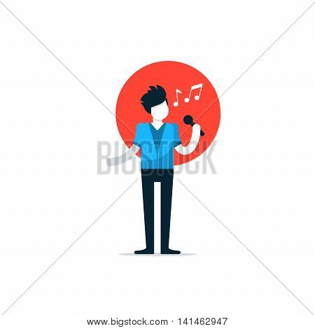 Comedy club night show, comedian performace, singer singing a song, stage entertainment performer, public speaking