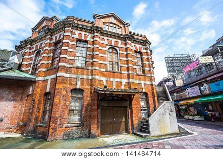The Red Chamber Theater In The Ximending, Taipei, Taiwan