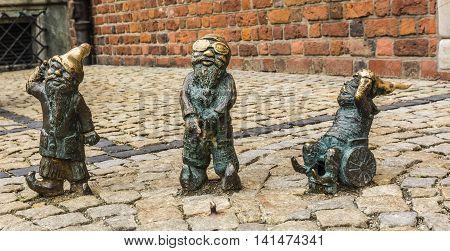 Wroclaw's Dwarfs.