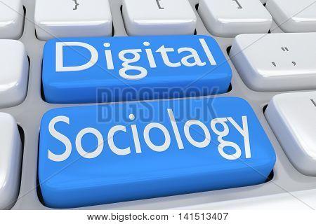 Digital Sociology Concept