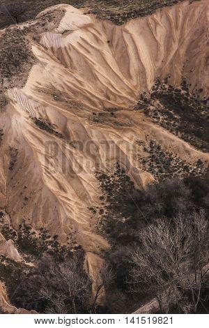 Aerial Photo Of The Cappadocia Topography