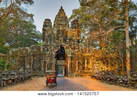 Morning Angkor Wat, Cambodia.