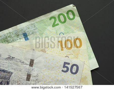 Danish Krone (dkk) Notes, Currency Of Denmark (dk)