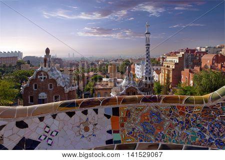 Barcelona Gaudi - Parc Guell