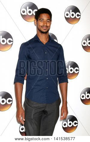 LOS ANGELES - AUG 4:  Alfred Enoch at the ABC TCA Summer 2016 Party at the Beverly Hilton Hotel on August 4, 2016 in Beverly Hills, CA
