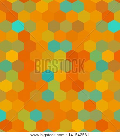 Crazy Wallpaper With Hexagons