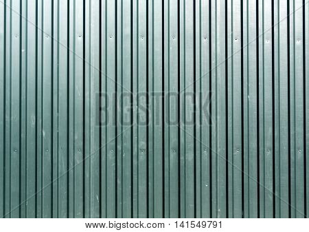 Abstract Color Metal Plate Fence Texture.