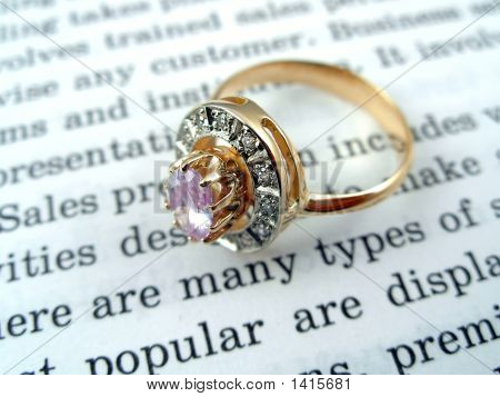The Open Book And Ring