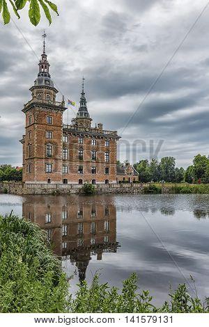 Marsvinsholms castle in the Skane region of Sweden.